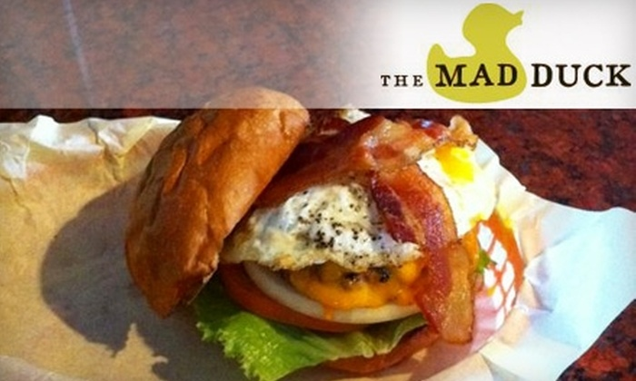 The Mad Duck - Clovis: $9 for $20 Worth of Pub Fare and Craft Beer at The Mad Duck