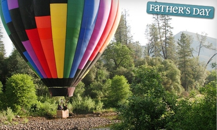 Sky Drifters - San Francisco: $112 for a Hot Air Balloon Ride and Champagne Toast from Sky Drifters in Rancho Murieta ($225 Value)