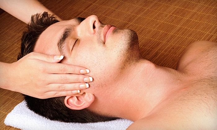 Masters Salon - Granger: Bioelements Spa-Facial Package for Him or Her or Hot-Stone Massage at Masters Salon (Up to 63% Off)