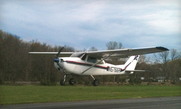 Shenandoah Flying Adventures - Harmony Heights: $65 for a Discovery Flight Lesson at Shenandoah Flying Adventures in New Market ($140 Value)