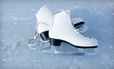 ICE at The Parks: 1 Children's Admission for Ages 6-12 and 1 Ice-Skate Rental - ICE at The Parks in Arlington