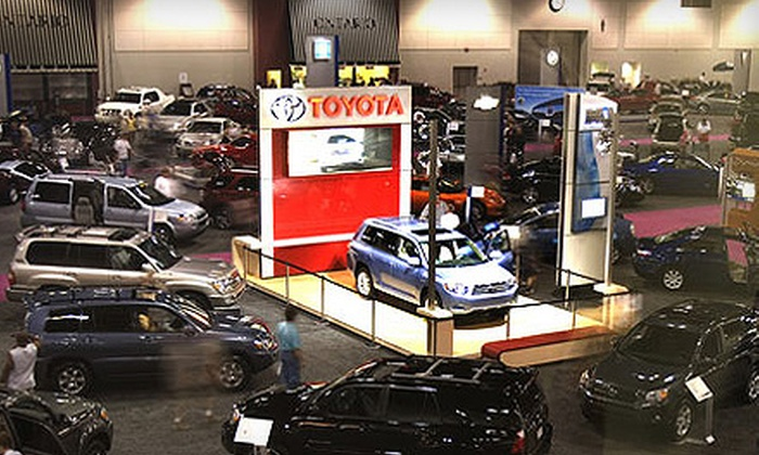Inland Empire Auto Show - Ontario: $15 for an All-Day Outing for Four at Inland Empire Auto Show in Ontario