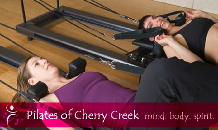 Pilates of Cherry Creek - Belcaro: $39 for One Private Pilates Lesson and One Mat Class at Pilates of Cherry Creek ($80 Value)