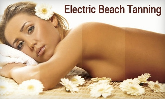Electric Beach Tanning - West Bloomfield: Tanning Services at Electric Beach Tanning in West Bloomfield. Choose from Two Options.