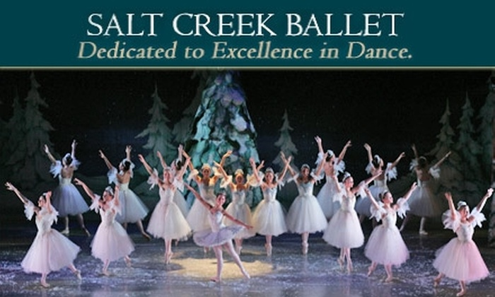 The Center for Performing Arts at Governors State University - Chicago: $16 for One Ticket to Matinee or Evening Performance of Salt Creek Ballet's 'The Nutcracker' on December 12