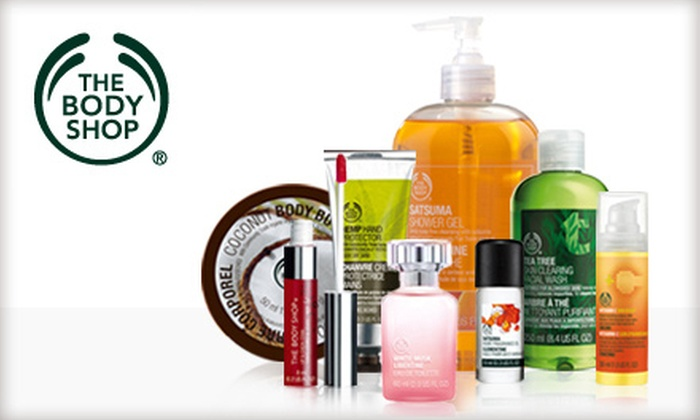 The Body Shop - Evansville: $10 for $20 Worth of Bath and Body Products at The Body Shop