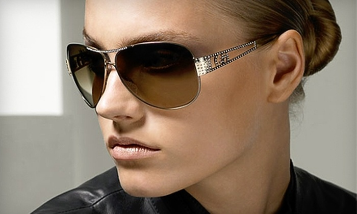All About Eyes - Rockford: $50 for $100 Toward Designer Frames and Sunglasses at All About Eyes