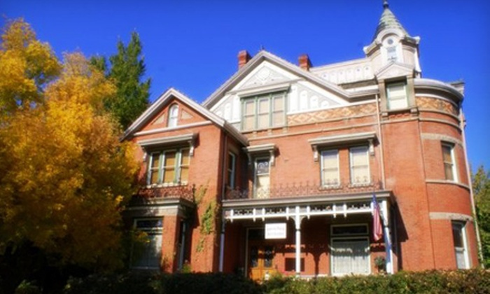 Armstrong Mansion - Salt Lake City: One-Night Weeknight or Weekend Stay or One-Night Romance Package for Two at Armstrong Mansion (Up to 52% Off)