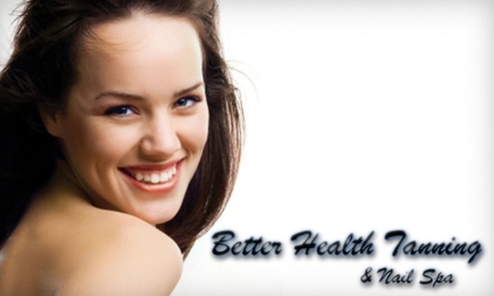 Better Health Tanning and Nail Spa - Plymouth: $49 for a Glycolic Peel, Vitamin C Peel, or Diamond-Tip Microdermabrasion at Better Health Tanning and Nail Spa ($100 Value)