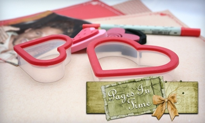 Pages In Time - Lincoln: $30 for Four Beginner Scrapbooking Classes and Supplies at Pages In Time ($60 Value)