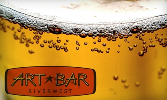 Art Bar - Riverwest:  $13 for Four Microbrews and a 12-Inch Pizza at Art Bar (Up to $31.50 Value)