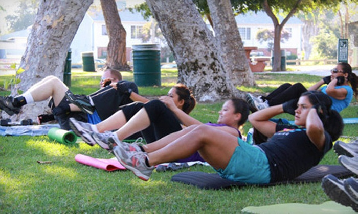 Feel The Burn Bootcamp - Multiple Locations: One Month of Unlimited Boot Camp Classes at Feel the Burn Bootcamp (78% Off)