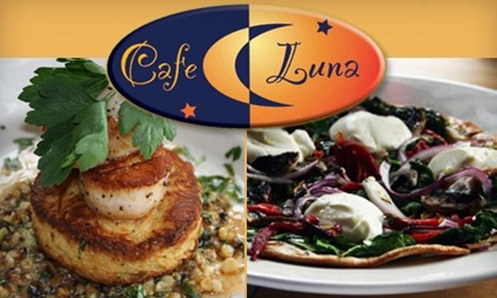 Café Luna Providence - Cranston: $10 for $25 Worth of Bistro Fare and Drinks at Cafe Luna