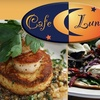 $10 for Bistro Fare at Cafe Luna