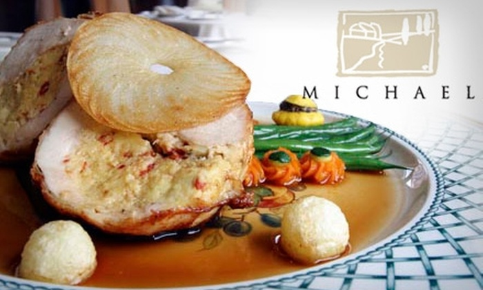 Restaurant Michael - Winnetka: $30 for $60 Worth of Upscale Cuisine and Drinks at Restaurant Michael