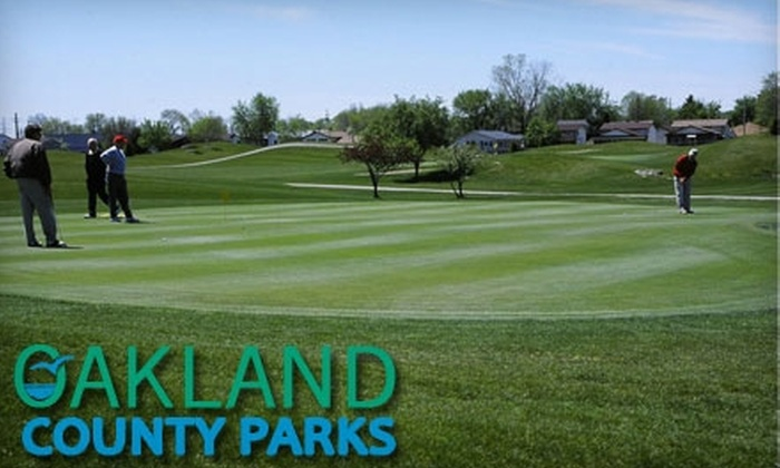Red Oaks Golf Course - Madison Heights: $10 for Nine Holes of Golf with Cart Rental at Red Oaks Golf Course in Madison Heights