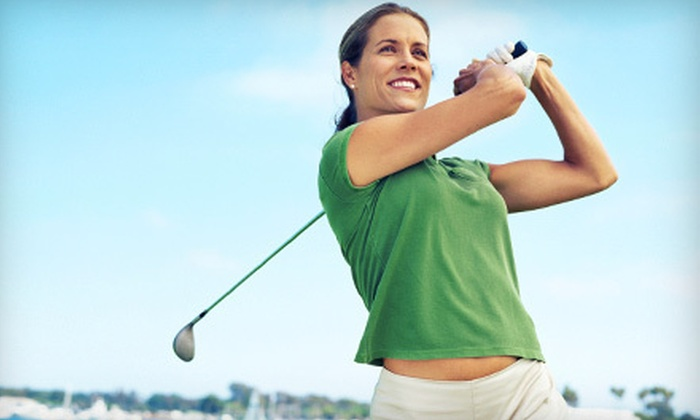 Striker Golf - Appleridge Estates: Swing Assessment or Simulator Golfing for Two at Striker Golf in Wheat Ridge (Half Off)