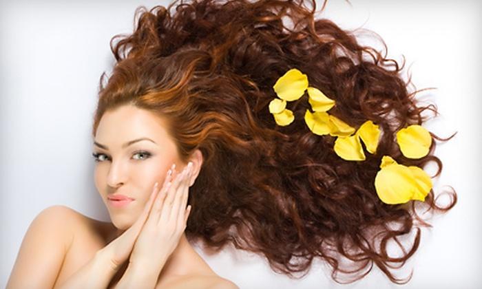 James Michael Salon & Spa - Park Shore: $25 for a Women's Haircut, Blow-Dry, and Style at James Michael Salon & Spa ($50 Value)