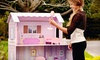$64 for Wooden Fancy Mansion Dollhouse