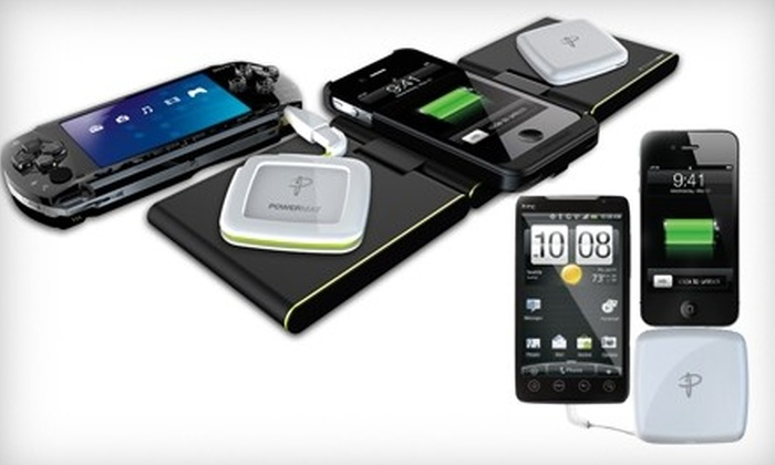 Rechargeable Battery Packs and Charging Stations from Powermat: Portable Backup Battery and Wireless Charging System (Up to 52% Off)