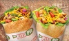 The Pita Pit-Baton Rouge - Highlands/Perkins: Stuffed Pitas and Mediterranean Fare or Catering Platters at Pita Pit (Half Off)