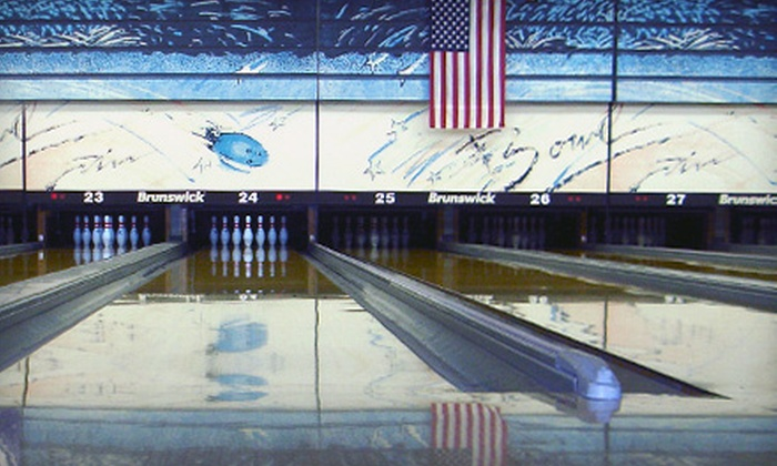 Collins Bowling Center - Multiple Locations: $18 for Bowling Outing Including Shoe Rentals for Up to Six at Collins Bowling Center (Up to $43 Value)