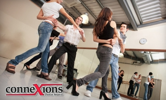 Connexions Dance Studio - San Buenaventura (Ventura): $27 for One Month of Group Salsa, Tango, or Swing Dance Classes at Connexions Dance Studio ($54 Value)