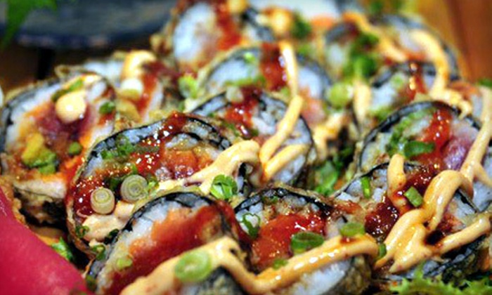 Bluefin Sushi & Thai Grill - Whispering Woods: $20 Worth of Sushi