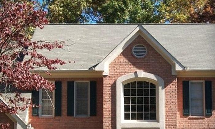 Everdry Roofing - Buckhead Village: $95 for Gutter and Roof Cleaning from Everdry Roofing ($190 Value)