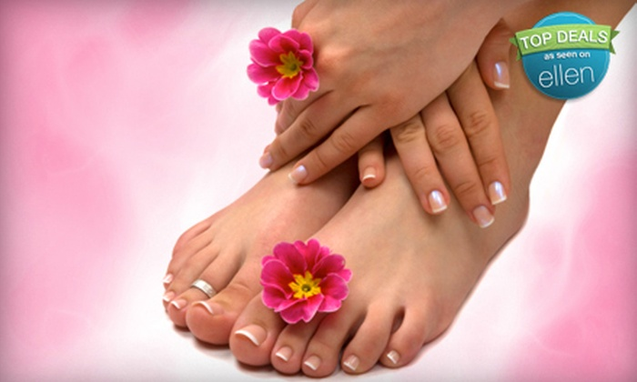 Combs & Company Hair and Nail Salon - Port Richey Acres: Mani-Pedi Package at Combs & Company Hair and Nail Salon in Port Richey (Up to 51% Off). Two Options Available.