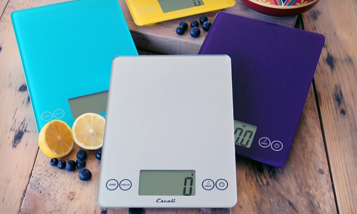 Escali Digital Glass Kitchen Scale: $27.99 for an Escali Digital Kitchen Scale ($59.95 List Price). Multiple Colors Available. Free Shipping.