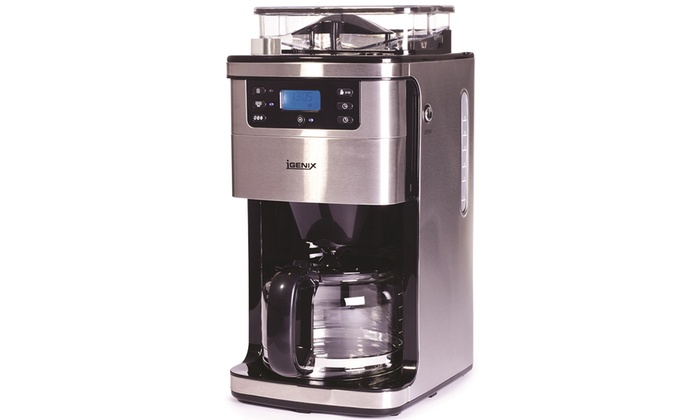 Image result for Igenix IG8225 12 Cup bean to coffee maker