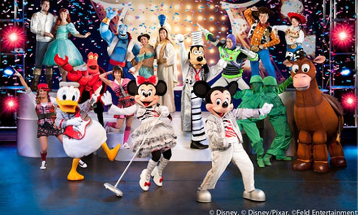 "Disney Live! Mickey's Music Festival - PATRIOT CENTER: ""Disney Live! Mickey's Music Festival"" at Patriot Center on February 24 (Up to 26% Off). Six Options Available."