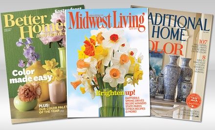 Home-Decor Magazine Subscription from Blue Dolphin Home Magazines (Up to 75% Off). Three Options Available.