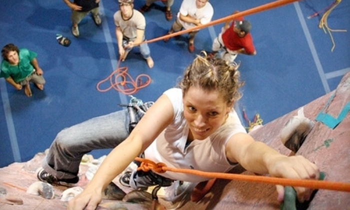 Edgeworks Climbing - West End: Climbing Packages with All Equipment Included at Edgeworks Climbing in Tacoma (Up to 53% Off). Four Options Available.