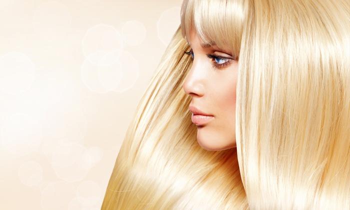 Schiavo Dina - Spinea (VE): Seduta di bellezza capelli con taglio più colore e shatush da 19,99 €