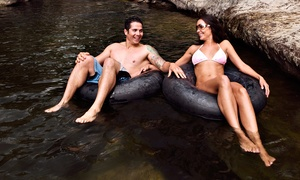 Floating Fun: Creek Tubing for Two or Four at Floating Fun (Up to 52%Off). Four Options Available.