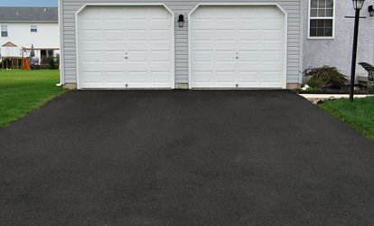 image for Seal Coating for Two- or Three-Car Driveway from Suburban Seal (Up to 56% Off)