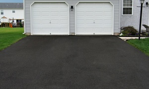 Suburban Seal: Seal Coating for Two- or Three-Car Driveway from Suburban Seal (Up to 58% Off)