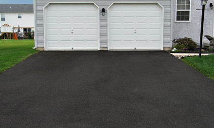 Seal Coating for Two- or Three-Car Driveway from Suburban Seal (Up to 54% Off)