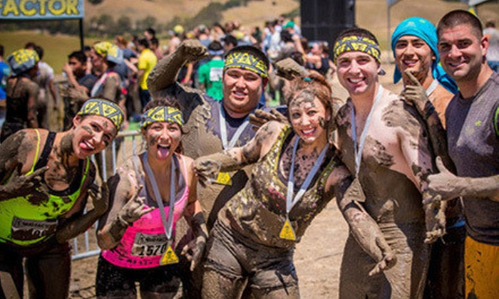 Mud Factor - Rancho Cordova: $29 for Entry to 5K-Obstacle-Course Mud Run from Mud Factor at Sacramento Raceway on Saturday, April 6 ($65 Value)