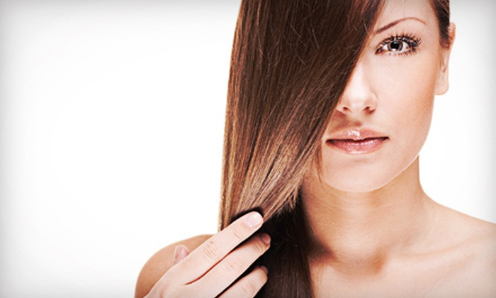 Solé Salon and Spa Aveda - Emeryville: One, Three, or Five Blowouts with Flat-Iron or Curling-Iron Styling at Solé Salon and Spa Aveda (Up to 69% Off)