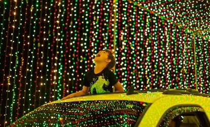 image for Admission for 1 Vehicle at Illumination Holiday Drive Thru Light Show on November 15–January 14 (Up to 23% Off)