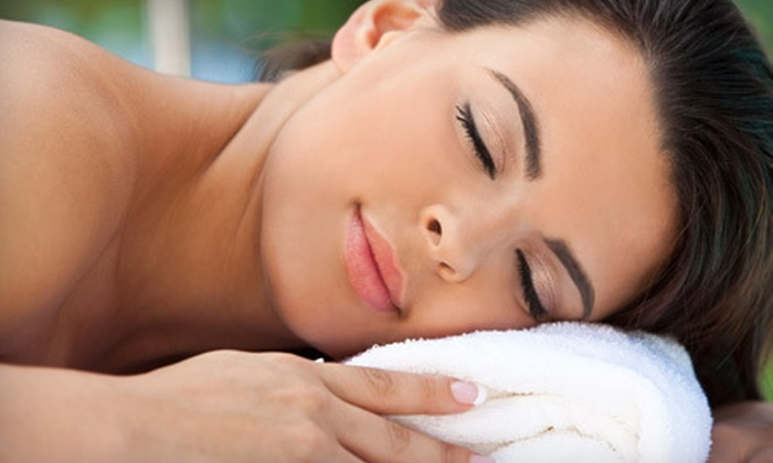 Palm Springs Spa Massage - Inland Empire: At-Home Aromatherapy Massage with Apricot Body Scrub from Palm Springs Spa Massage (Up to 56% Off)