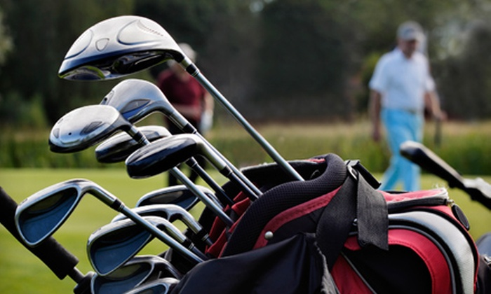 Lonnie Poole Golf at North Carolina State University - Raleigh: Champion Putter or Hybrid Club and 18-Hole Round of Golf with Cart at Lonnie Poole Golf Course (Up to 75% Off)