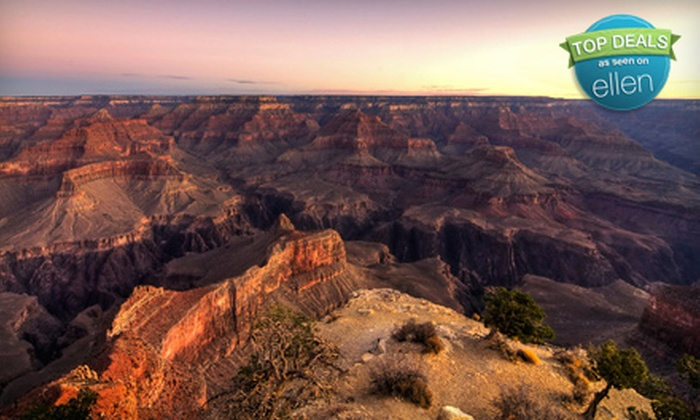 Comedy On Deck Tours - Multiple Locations: $79 for a Grand Canyon Express West Rim Tour from Comedy on Deck Tours ($160 Value)