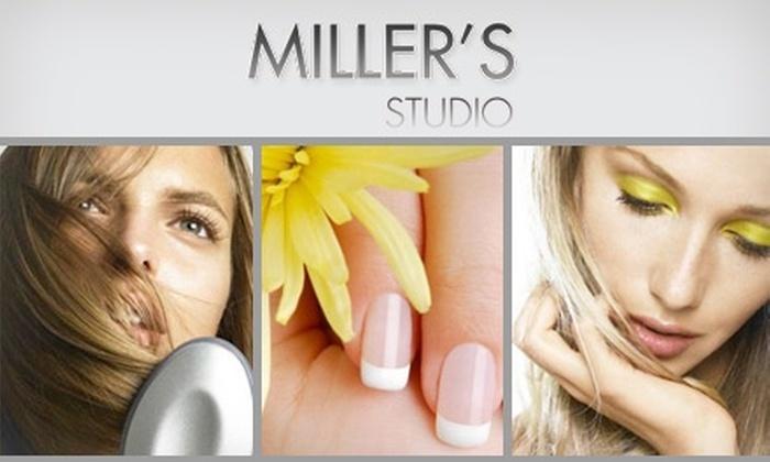 Miller's Hair Studio - Miami: $49 for a Mani-Pedi Plus $75 Worth of Hair Services at Miller's Studio ($135 Value)