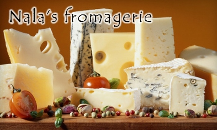 Nala's Fromagerie - Bellevue: $10 for $20 Worth of Gourmet Cheeses, Meats, and More at Nala's Fromagerie