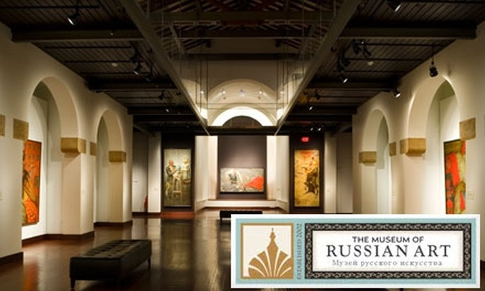 The Museum of Russian Art - Windom: $7 for Two Tickets to The Museum of Russian Art ($14 Value)