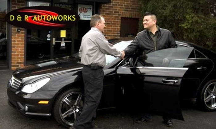 D&R Autoworks - Highland Park: $29 for Oil Change, Tire Rotation, Comprehensive Inspection, and Car Wash at D&R Autoworks in Highland Park